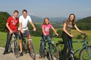 Eine lustige Radtour um den Längsee unternehmen